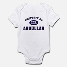 Property of abdullah Infant Bodysuit