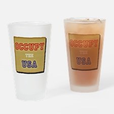corporate OCCUPY THE USA mug Drinking Glass