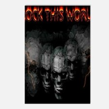 rock this world Postcards (Package of 8)