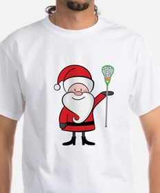 Lacrosse Santa Personalized Shirt