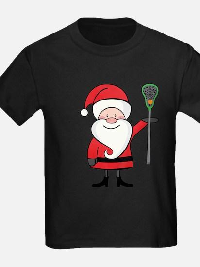 Lacrosse Santa Personalized T