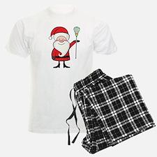 Lacrosse Santa Personalized Pajamas