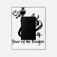 Black dragon chinese new year Picture Frame