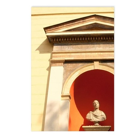 Statue of Francisco I. Au Postcards (Package of 8)