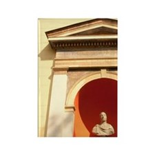 Statue of Francisco I. Augusto AD Rectangle Magnet