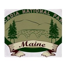 AcadiaBridges Throw Blanket