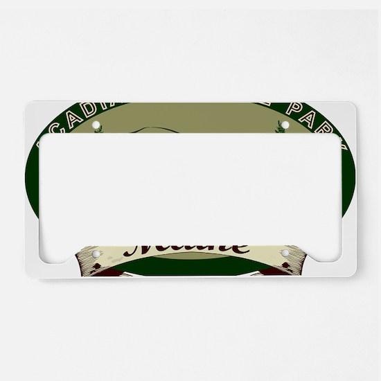 AcadiaBridges License Plate Holder
