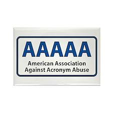 AAAAA Rectangle Magnet