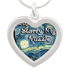 Alinas Silver Heart Necklace