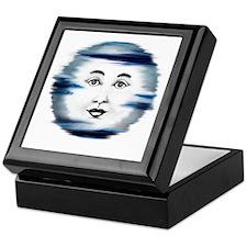 Blue Moon Face4 Keepsake Box