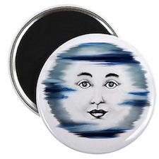 Blue Moon Face4 Magnet