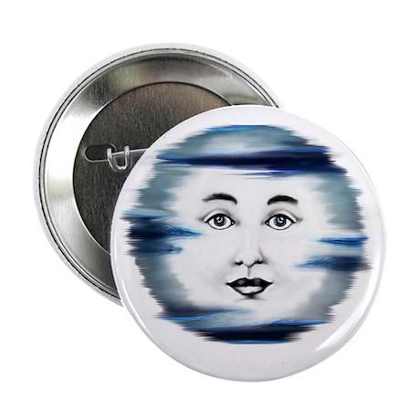 """Blue Moon Face4 2.25"""" Button"""