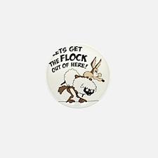 flock Mini Button