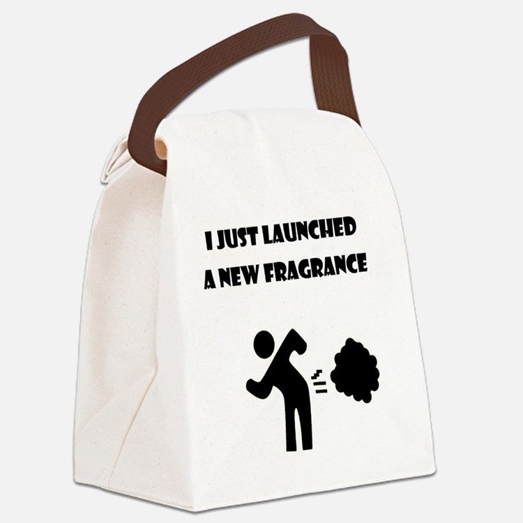 new_fragrance Canvas Lunch Bag