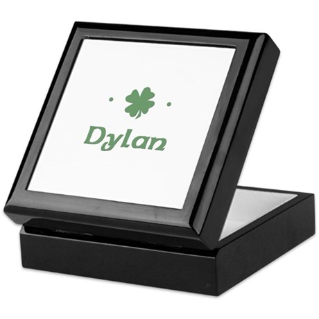"""Shamrock - Dylan"" Keepsake Box"