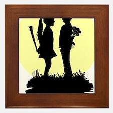 love actually Framed Tile