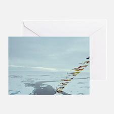 Nuclear powered icebreaker 'Sovietsk Greeting Card