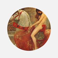 "Lady Godiva 3.5"" Button"