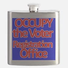 Occupy the Voter Registration Office Flask