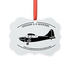 L-5 profile sticker #5 Ornament