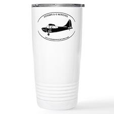 L-5 profile sticker #5 Travel Coffee Mug
