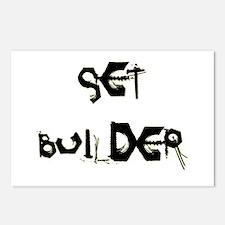 Set Builder Postcards (Package of 8)
