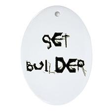 Set Builder Ornament (Oval)