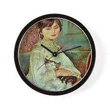 Julie Manet by Renoir Wall Clock