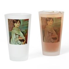 Julie Manet by Renoir Drinking Glass