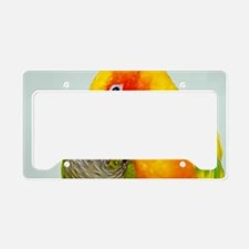 bird-laptop License Plate Holder