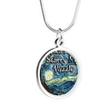 Annikas Silver Round Necklace