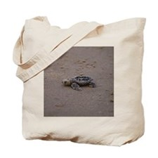 solitary turtle Tote Bag