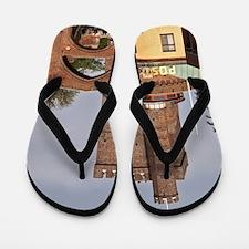 The Karnan medieval tower. Terrastrappo Flip Flops