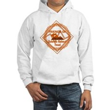 Trail Work Ahead Shirt Front Hoodie