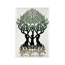 Ferret Tree of Life Rectangle Magnet