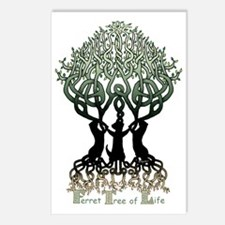 Ferret Tree of Life Postcards (Package of 8)