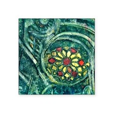 "cathedral Square Sticker 3"" x 3"""