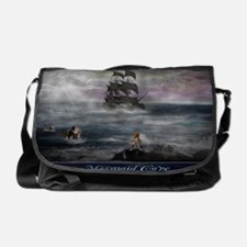 Mermaid Cove Large Messenger Bag