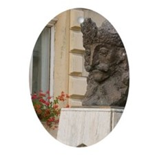 Statue of Vlad Tepes ( Vlad The Impe Oval Ornament