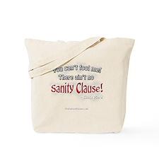 Sanity Clause 10x10_apparelDK Tote Bag