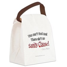 Sanity Clause 10x10_apparelDK Canvas Lunch Bag