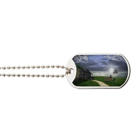 Pirates Life Large Dog Tags