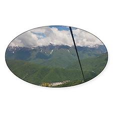 Caucasus Mountains Decal