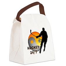 hockey24-7 Canvas Lunch Bag