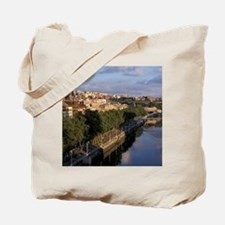 Europe, Spain, Bilbao, The Nervi-n River. Tote Bag