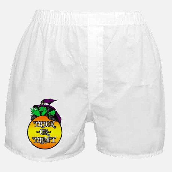 TRICK_OR_TREAT Boxer Shorts