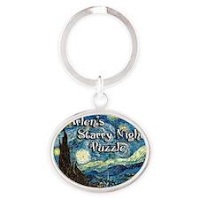 Arlens Oval Keychain