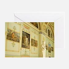 Russia. St Petersburg. Hermitage Mus Greeting Card