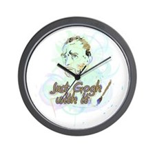Just Gogh With It Vincent Van Gogh Wall Clock
