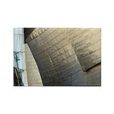 Europe, Spain, Bilbao. The Guggen Rectangle Magnet